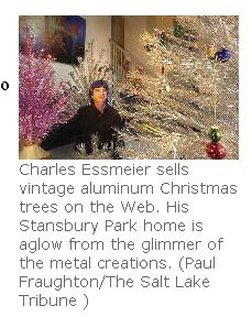 salt lake tribune aluminum christmas trees article